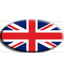 Union Jack Royal British bandera pegatina Range Rover OVAL