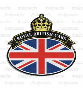Badge sticker Union Jack Royal British flag bandera inglesa Range Rover