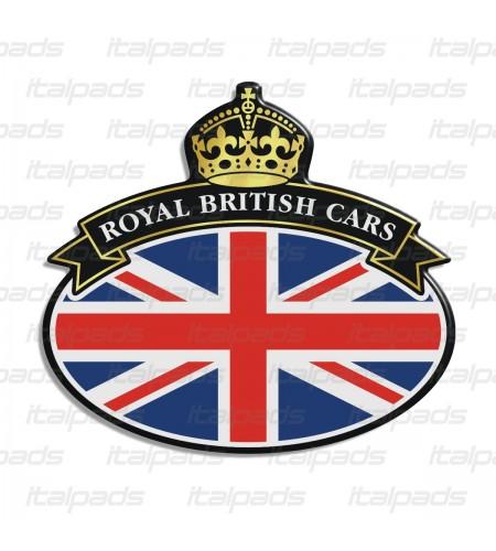 Badge sticker Union Jack Royal British flag bandera inglesa Range Rover