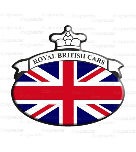 Union Jack Royal British bandera pegatina Range Rover B/W