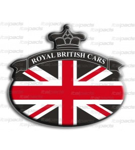 Union Jack Royal British bandera pegatina Range Rover negro