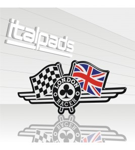 "Union Jack bandera pegatina ""London Racer"" Triumph"
