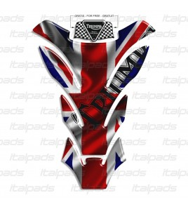 "Protector De Depòsito Triumph U.K. bandera  Union Jack ""Detroit""  + 1 sticker para GRATIS"