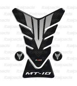 Protector De Depòsito Tank Pad para Yamaha MT-10 negro/carbono + 2 Gratis!!
