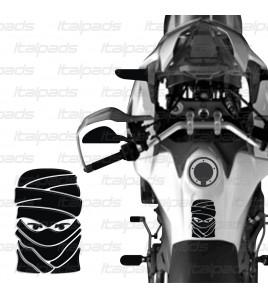"Protector De Depòsito para Honda Africa Twin CRF 1000 mod. ""Tuareg"" negro"
