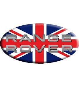 Union Jack Royal British bandera pegatina Range Rover OVAL