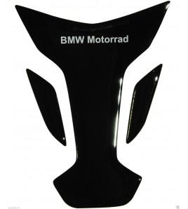"Protector De Depòsito Tank Pad negro para BMW mod. ""wings"""