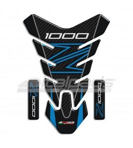 """Protector De Depòsito para Kawasaki Z1000 azul/celeste mod. """"Nevada""""+2"""