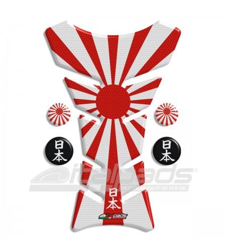 Protector De Depòsito  bandera Japón HoneyComb + 4