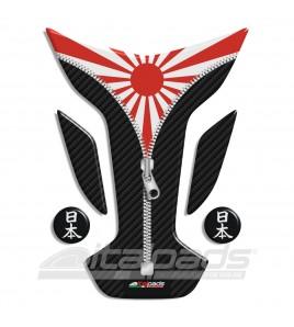 """Protector De Depòsito  bandera Japón mod. """"Wings ZIP"""" + 2"""